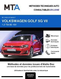 MTA Volkswagen Golf VII 3 portes phase 1