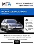 MTA Volkswagen Golf VII 5 portes phase 1
