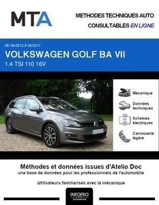 MTA Volkswagen Golf VII  break phase 1