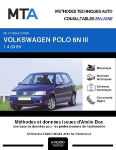 MTA Volkswagen Polo III 5p phase 2