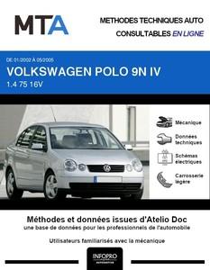 MTA Volkswagen Polo IV berline phase 1