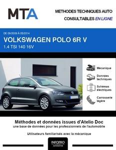 MTA Volkswagen Polo V 3 portes phase 1