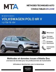MTA Volkswagen Polo V 5 portes phase 1