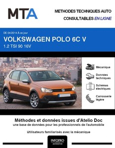 MTA Volkswagen Polo V 5 portes phase 2