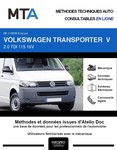 MTA Volkswagen Transporter T5 chassis double cabine phase 2
