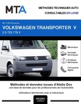 MTA Volkswagen Transporter T5 fourgon 3p phase 2