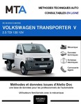MTA Volkswagen Transporter T5 pick-up phase 1