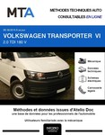 MTA Volkswagen Transporter T6 chassis cabine phase 1