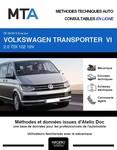 MTA Volkswagen Transporter T6 combi 4p phase 1