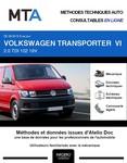 MTA Volkswagen Transporter T6 fourgon 4p phase 1