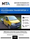 MTA Volkswagen Transporter V pick-up double cabine phase 1