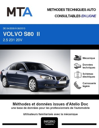 MTA Volvo S80 II phase 2