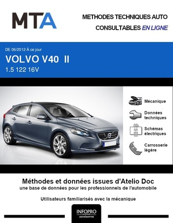 MTA Volvo V40 II phase 1