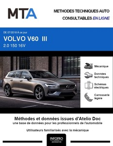 MTA Volvo V60 III