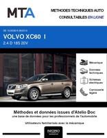 MTA Volvo XC60 I phase 1