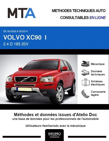MTA Volvo XC90 I break phase 2