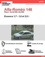 Revue Technique Alfa Romeo 146 essence