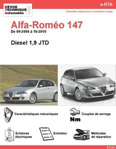 Revue Technique Alfa Romeo 147 diesel