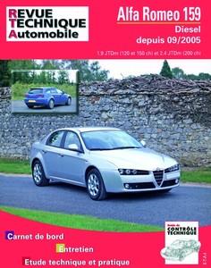 Revue Technique Alfa Romeo 159 diesel