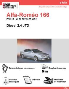 Revue Technique Alfa Romeo 166 diesel