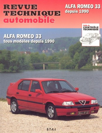 Revue Technique Alfa Romeo 33 phase 2