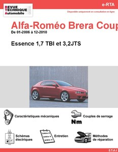 Revue Technique Alfa Romeo Brera essence