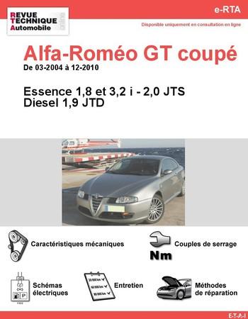 Revue Technique Alfa Romeo GT