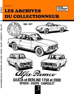 Revue Technique Alfa Romeo Giulia 1962
