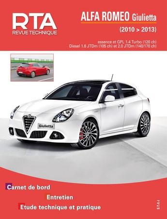 Revue Technique Alfa Romeo Giulietta I phase 1