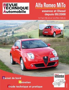 Revue Technique Alfa Romeo Mito phase 1