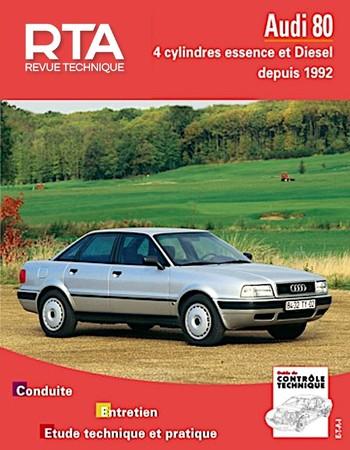 Revue Technique Audi 80 IV (B4)