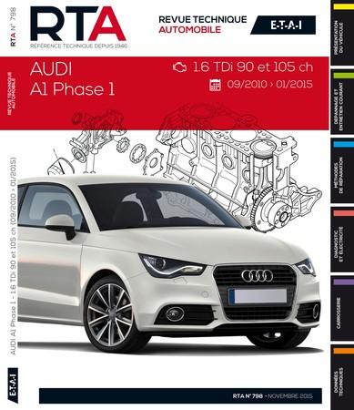 Revue Technique Audi A1 I (8X) phase 1