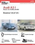 Revue Technique Audi A3 8L essence