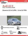 Revue Technique Audi A3 8P essence