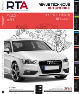 Revue Technique Audi A3 III (8V) phase 1