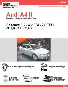 Revue Technique Audi A4 B7 essence