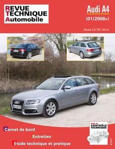 Revue Technique Audi A4 IV (B8) phase 1