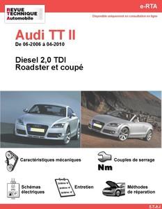 Revue Technique Audi TT 8J diesel