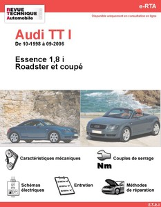 Revue Technique Audi TT 8N