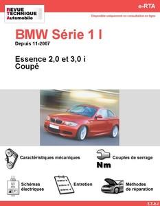 Revue Technique BMW Série 1 E82 essence
