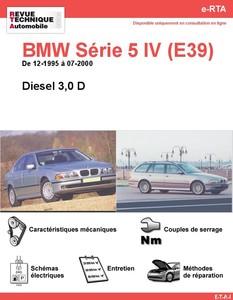 Revue Technique BMW Série 5 E39 diesel