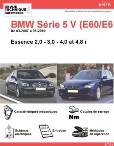 Revue Technique BMW Série 5 E60-E61 essence