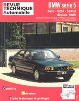 Revue Technique BMW Série 5 III (E34)