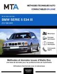 Revue Technique BMW Série 5 III (E34) phase 1