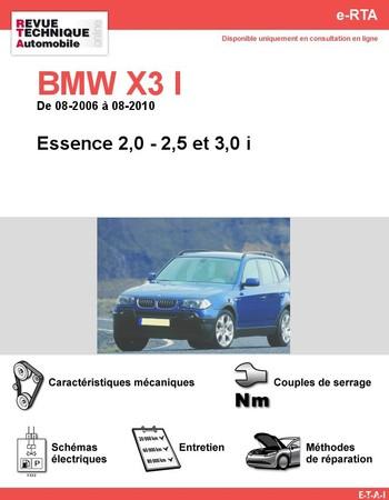 Revue Technique BMW X3 E83 essence