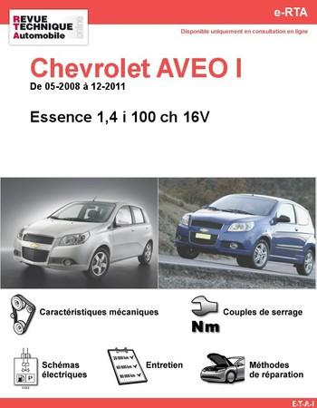 Revue Technique Chevrolet Aveo essence