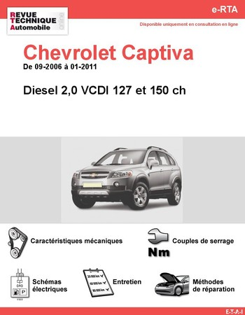 Revue Technique Chevrolet Captiva diesel