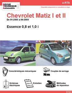 Revue Technique Chevrolet Matiz I et II