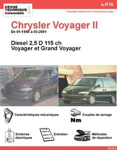 Revue Technique Chrysler Voyager II diesel