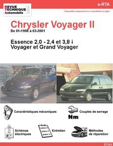Revue Technique Chrysler Voyager II essence